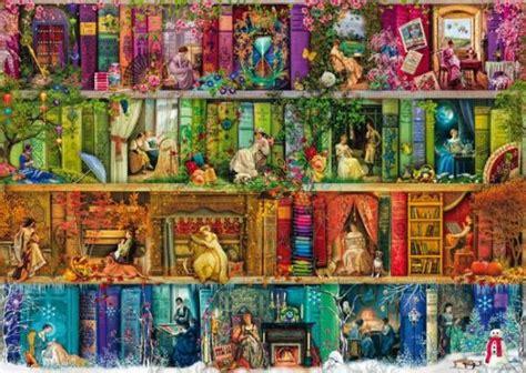 libreria fantasia puzzle estaciones librer 237 a fantas 237 a de epoca ref