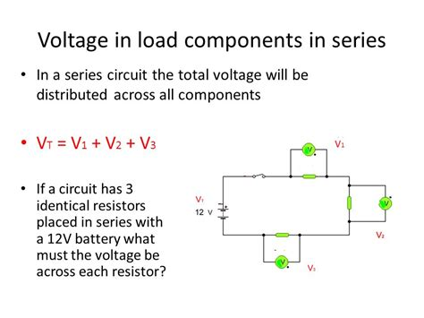 load resistors in series series and parallel circuits ppt