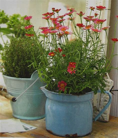 planters for the shabby chic lover wwwshabbycottageboutique