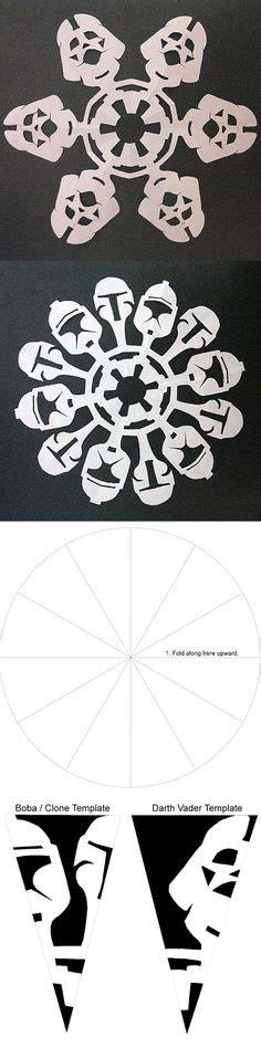 yoda snowflake template printable for e z origami yoda