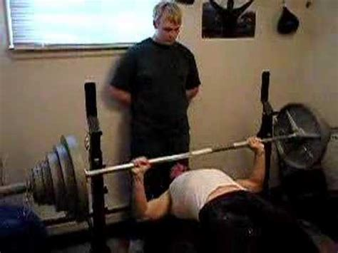 world record bench press 165 lbs 300 lb raw bench press 165 lb body weight youtube
