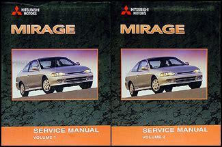 auto repair manual online 2002 mitsubishi mirage auto manual 2002 mitsubishi mirage original repair shop manual 2 vol set