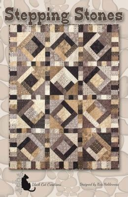quilt pattern stepping stones stepping stones quilt pattern bcc 231 intermediate lap