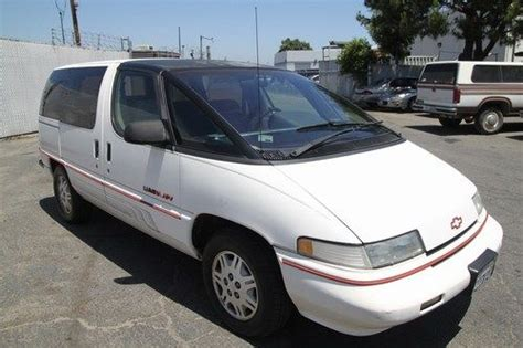 how to sell used cars 1993 chevrolet apv electronic toll collection find used 1990 chevrolet lumina apv minivan automatic 6 cylinder no reserve in orange