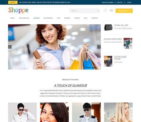 bootstrap themes ecommerce free shoppe a flat ecommerce bootstrap responsive web template