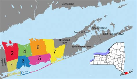 Suffolk County Search File Suffolk County District Precincts W Nys Png