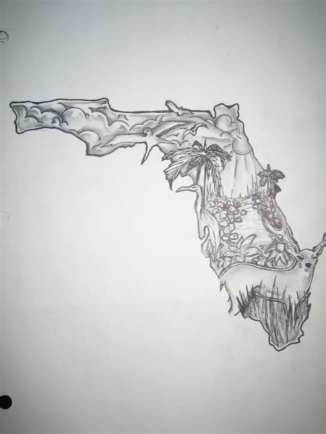 state tattoo designs s59681r7 state of florida florida