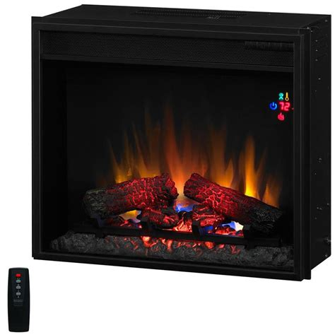 classic fixed front 23 inch electric fireplace