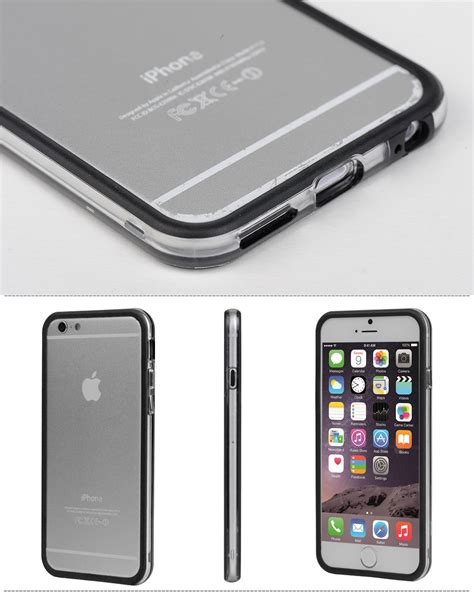 Sale Bumper Ultrathin Iphone 7 Plus tpu rubber ultra thin bumper frame protective cover for iphone 7 7 plus ebay