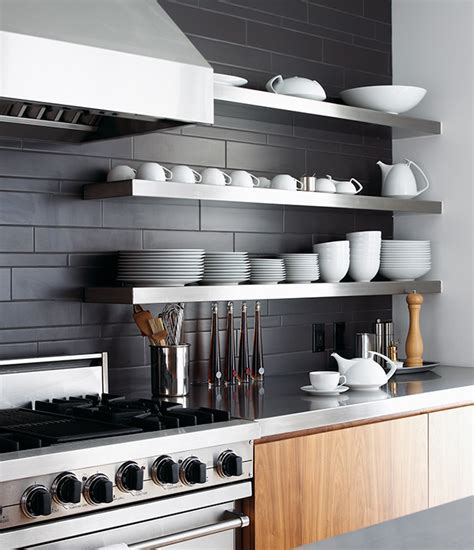 open shelf kitchen design 30 kitchens that to bare all with open shelves