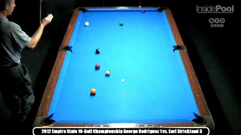 raxx pool room earl strickland vs george rodriguez 2012 empire state 10 chionships at raxx pool room
