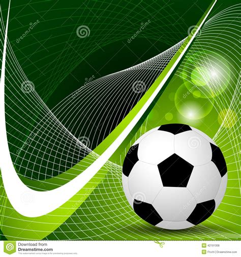 soccer ball background stock vector image of abstract