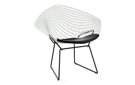 harry bertoia chair pads bertoia two tone lounge chair with seat pad