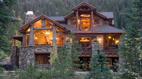 Small House Big Garage Plans by Most Beautiful Log Cabin Homes Beautiful Mountain Cabins