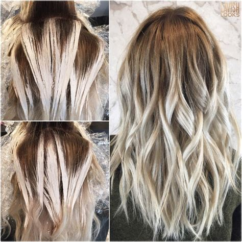 reverse ombre at home for processed blonde hair best 20 reverse balayage ideas on pinterest balayage