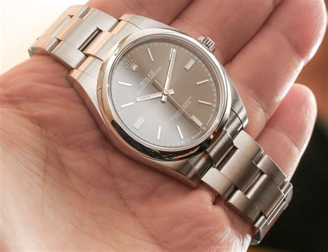 Rolex Oyster Perpetual Watches New For 2015 Hands On   aBlogtoWatch