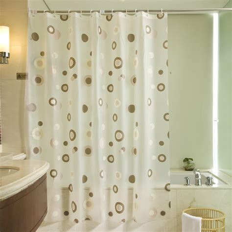 Beautiful Shower Curtains by Free Shipping 180 180cm Simple And Beautiful Peva Shower Curtain Thickening Waterproof Bathroom