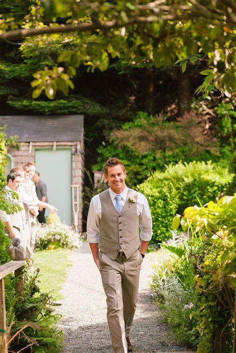 Garden Wedding Reception Attire Garden Wedding Groom S Suit With Vest Zhen S