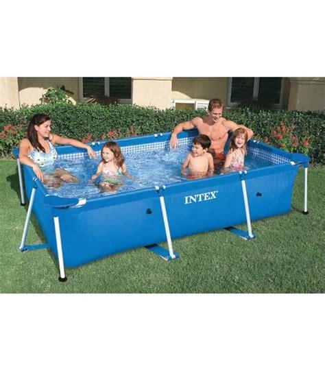 piscina da giardino fuori terra piscina rettangolare fuori terra da giardino esterno con