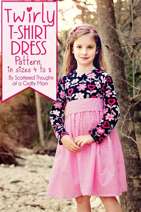 free sewing patterns t shirt dress twirly t shirt dress sewing for our little ones pinterest