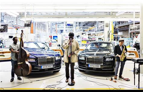 rolls royce manufacturing plant gregory porter performs gig at rolls royce