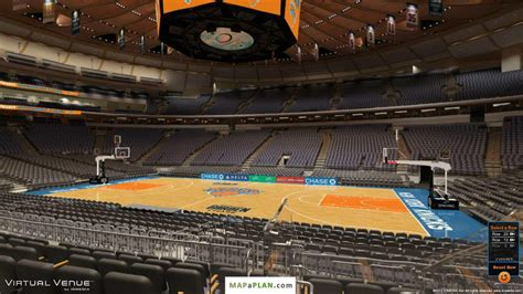 section 116 msg madison square garden seating chart detailed seat