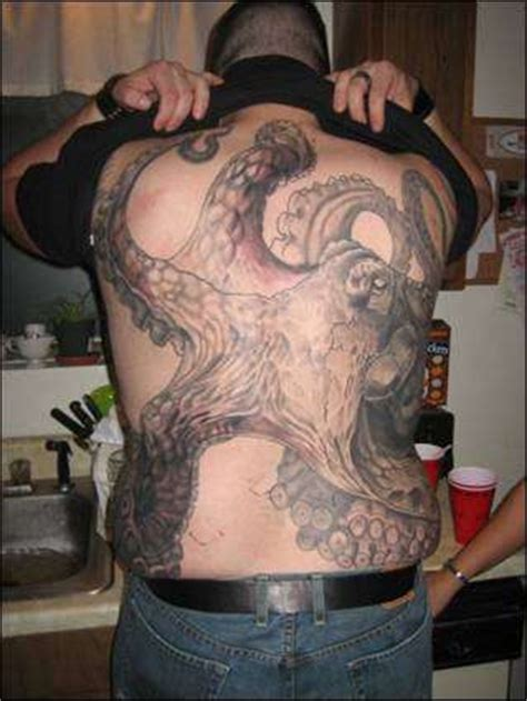 squid ink tattoo octopus squid tattoos these tattoos represent a