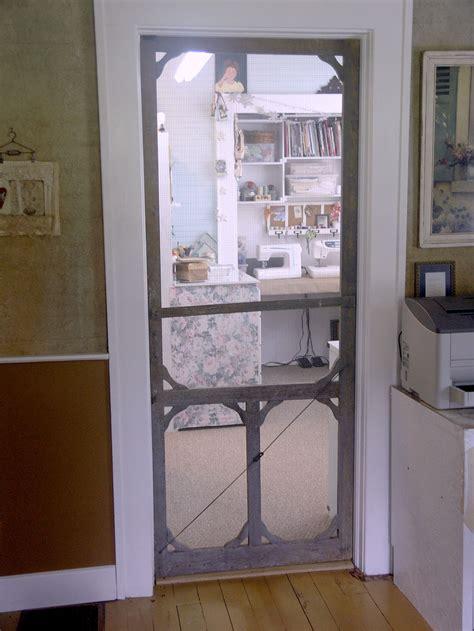 shabby cottage studio gail schmidt artist november 2010 - Inside Screen Door