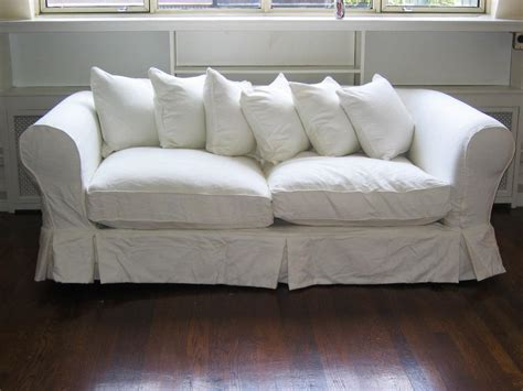 cotton duck sofa slipcover clearance slipcovers idea outstanding white loveseat slipcovers