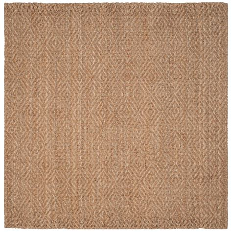 7 x 7 square area rugs safavieh fiber 7 ft x 7 ft square area rug nf181a 7sq the home depot