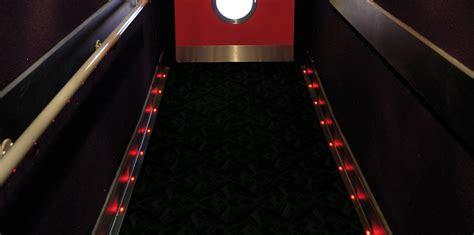 theater aisle lighting led aisle floor lighting gradus contract interior