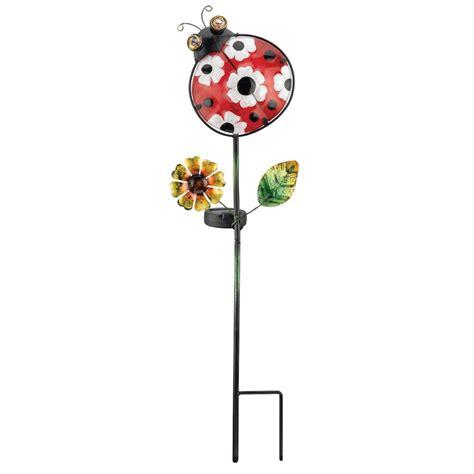 Ladybug Solar Lights Regal Gift 10548 24 Quot X 6 5 Quot Ladybug Garden Stake