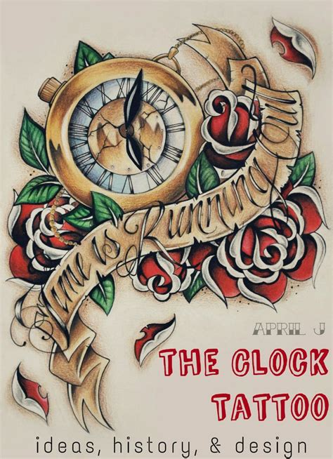 clock with roses tattoo meaning best 25 clock tattoos ideas on clock