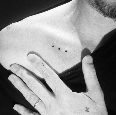 three dot tattoo best 25 goes on ideas on use of