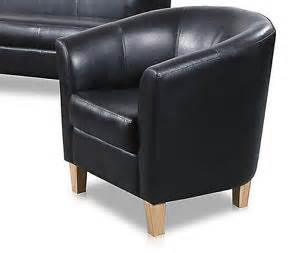 new cheap black pu leather modern one two three seater tub