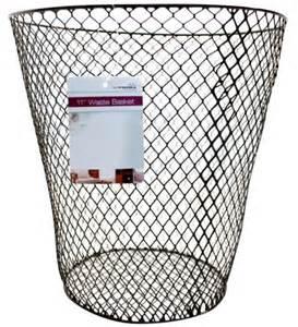 bedroom wastebasket waste basket bin wastebasket mesh wire paper round office home bedroom n2 ebay