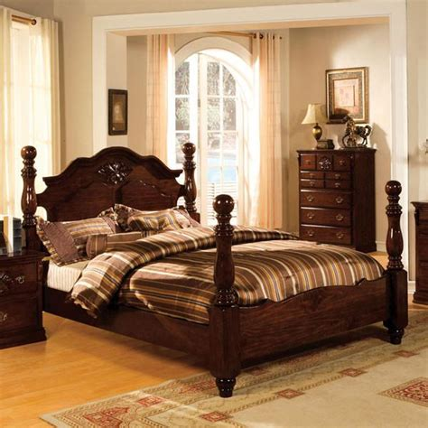 colonial style beds tuscan colonial style dark pine bed 24 7 shop at home