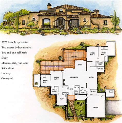 tuscan estates floor plan cortona model