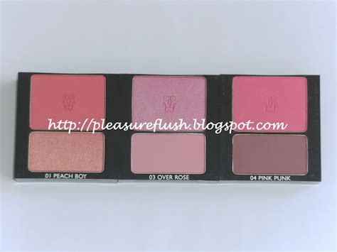 Guerlain Aux Joues Blush On Shade 03 6 5gr pleasureflush guerlain fall 2012 aux joues blush duos review and swatches