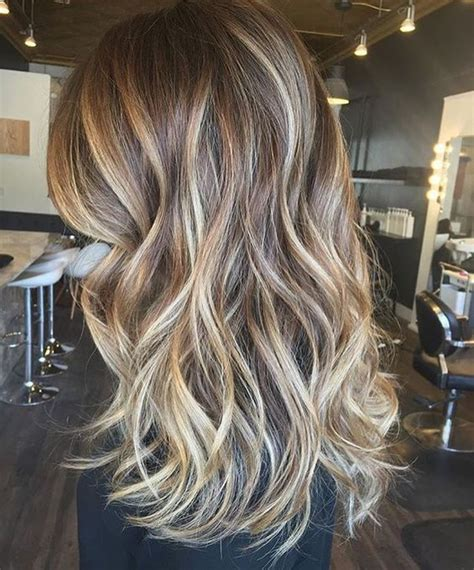 blended hair styles perfectly blended brunette balayage hairstyles ideas 2017