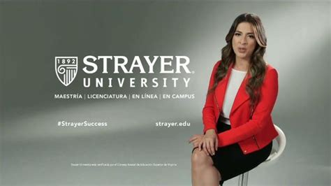 Strayer 10 Course Mba by Strayer Tv Commercial La Clave Featuring