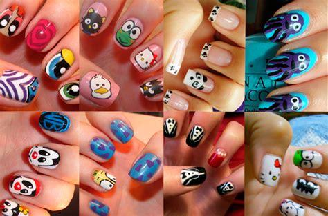 imagenes de uñas pintadas de vaquitas tendencias manicura verano 2012