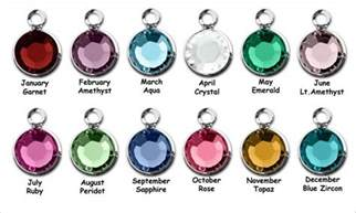 Gold Personalized Necklace True Birthstones By Month Birthstones By Month Gemstones Minerals Metals Rocks Pinterest