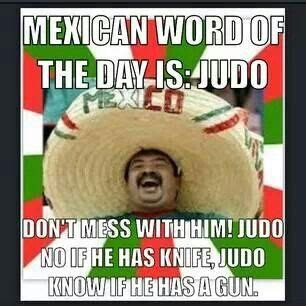 Funny Mexican Meme - judo mexican funny and mexican words on pinterest