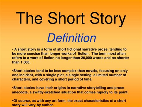 theme definition for short stories red riding hood and plot