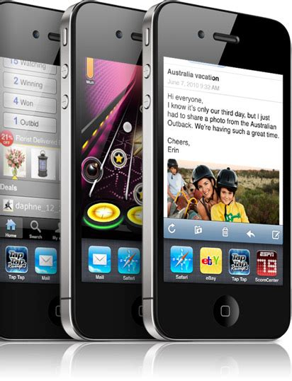 apple iphone 4 features list applesectio