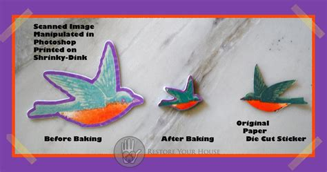 Printable Images For Shrinky Dinks | using shrinky dinks and print and cut teamknk