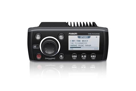 boat stereo radio fusion ms ra205 marine radio compact stereo am fm usb ipod