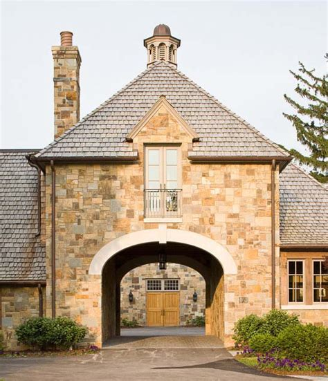 castle style home plans by archival designs