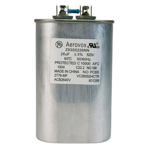 aerovox hid capacitors hid lighting capacitor 525vac aerovox z93s5226nn